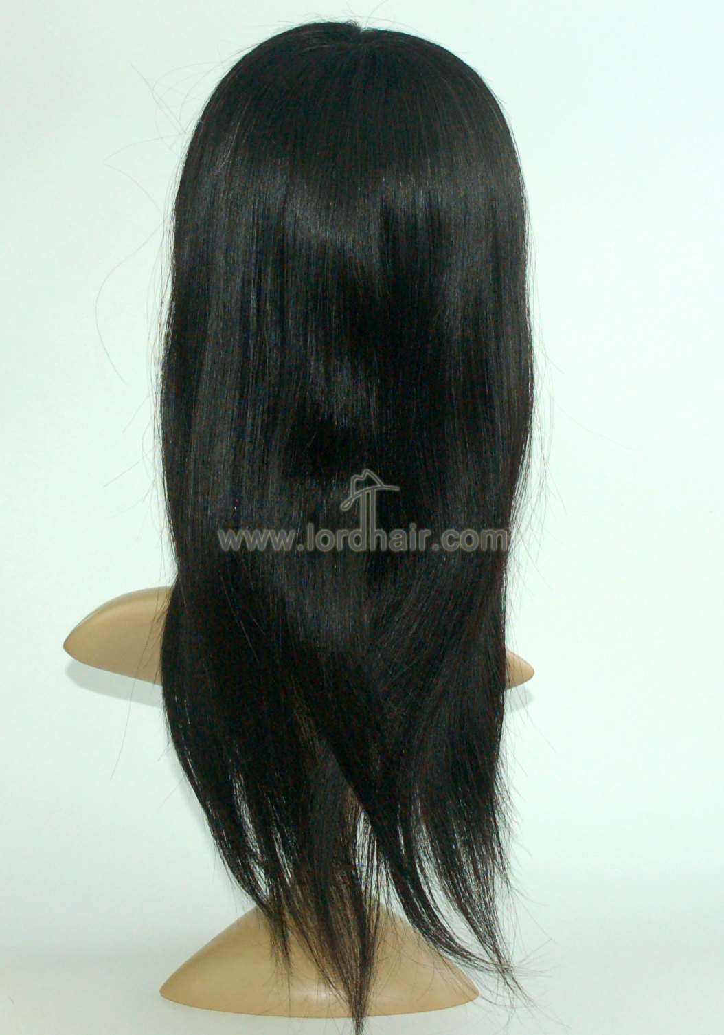 Super Fine Mono with Transparent Skin Women Hair Replacement