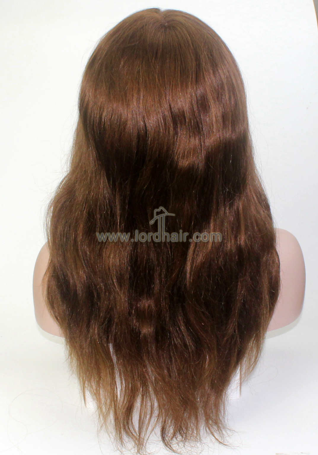 Fine Mono with Thin Skin Around Indian Human Hair Replacement