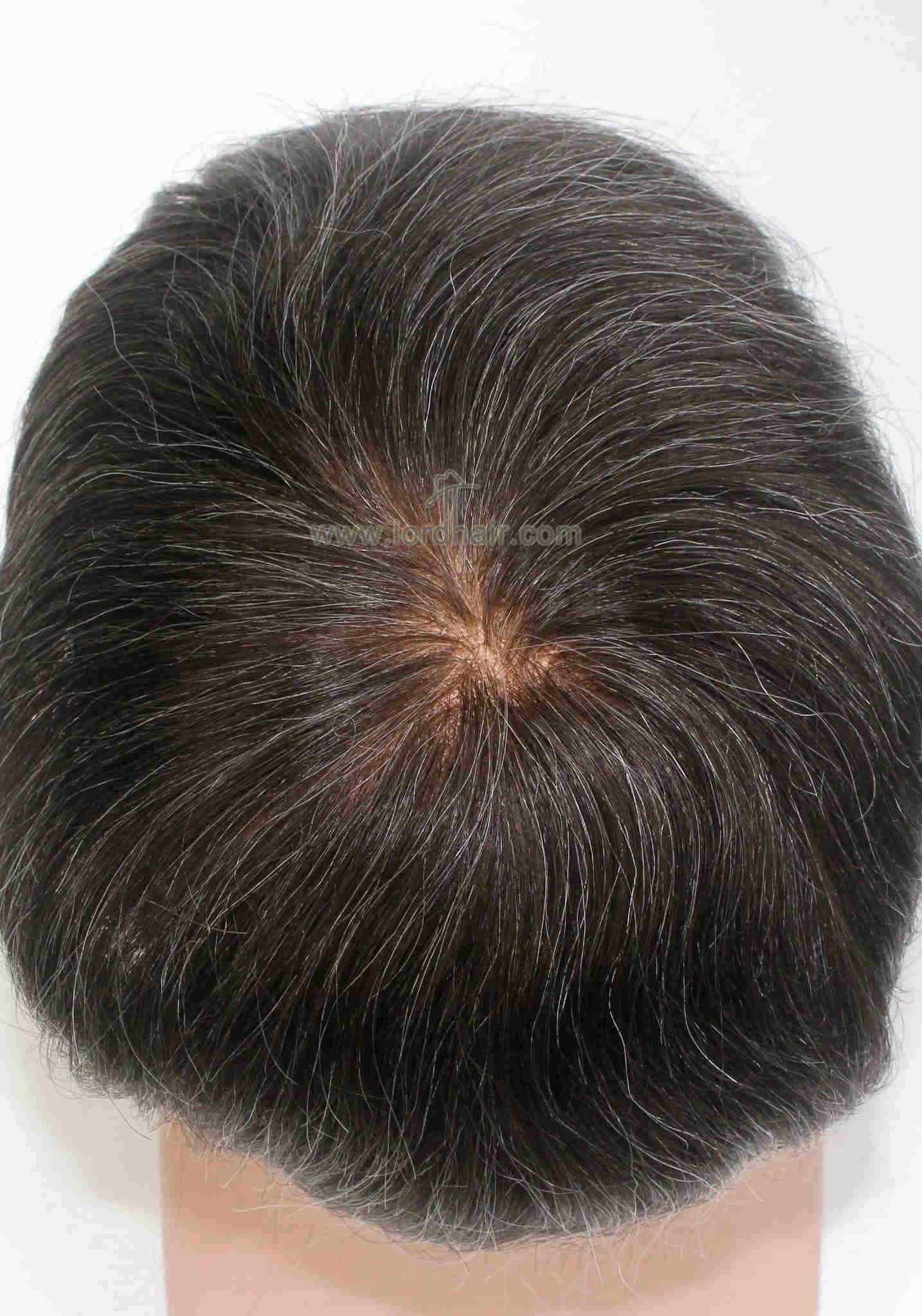 Best Full French Lace Base Indian Human Hair Toupee for Men