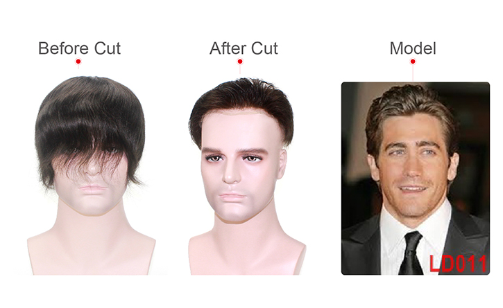 Hair Cut for Hair System