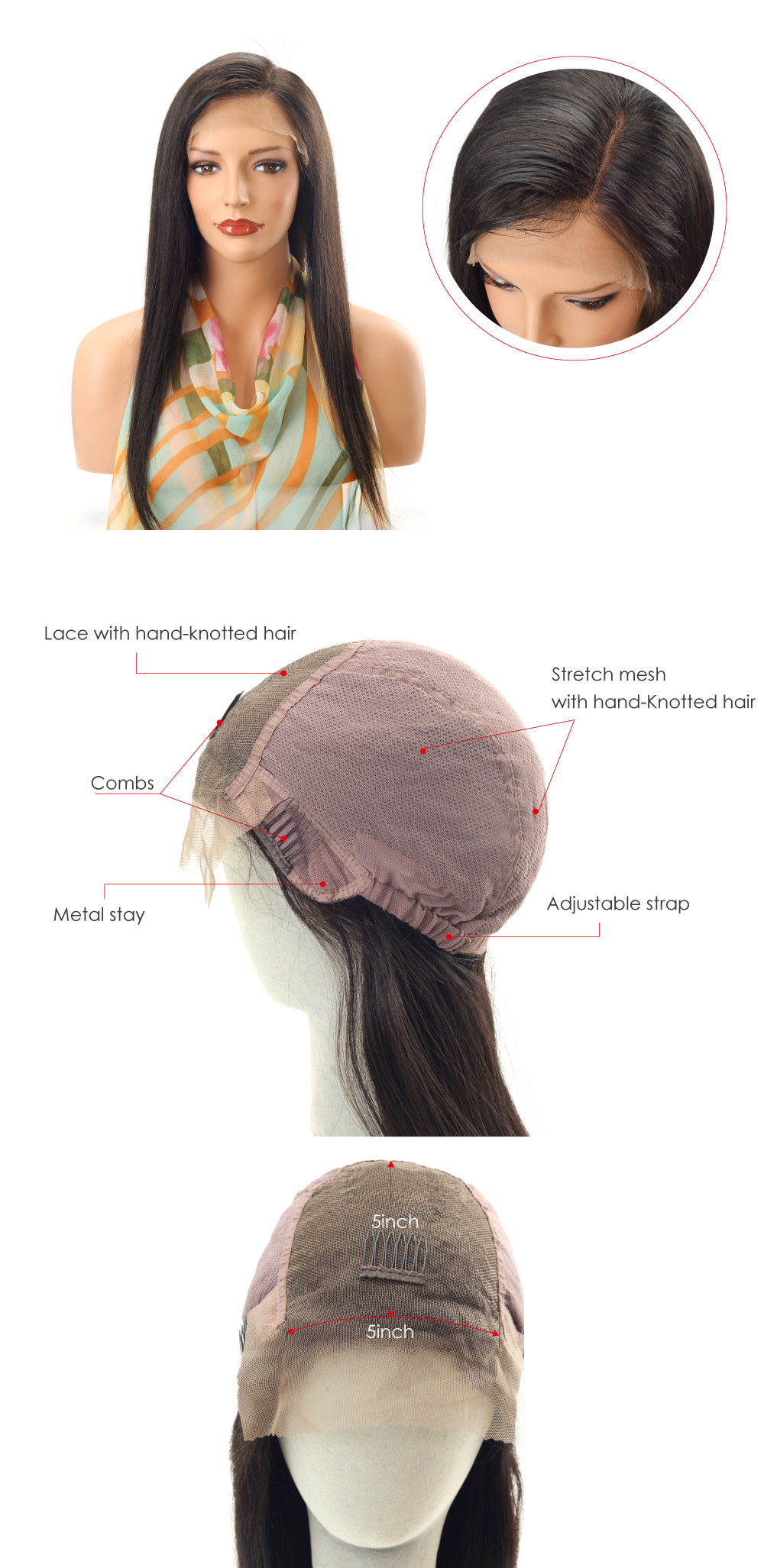 Glueless Wig for Women