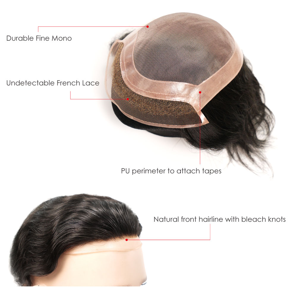 Lace Front Hairpiece