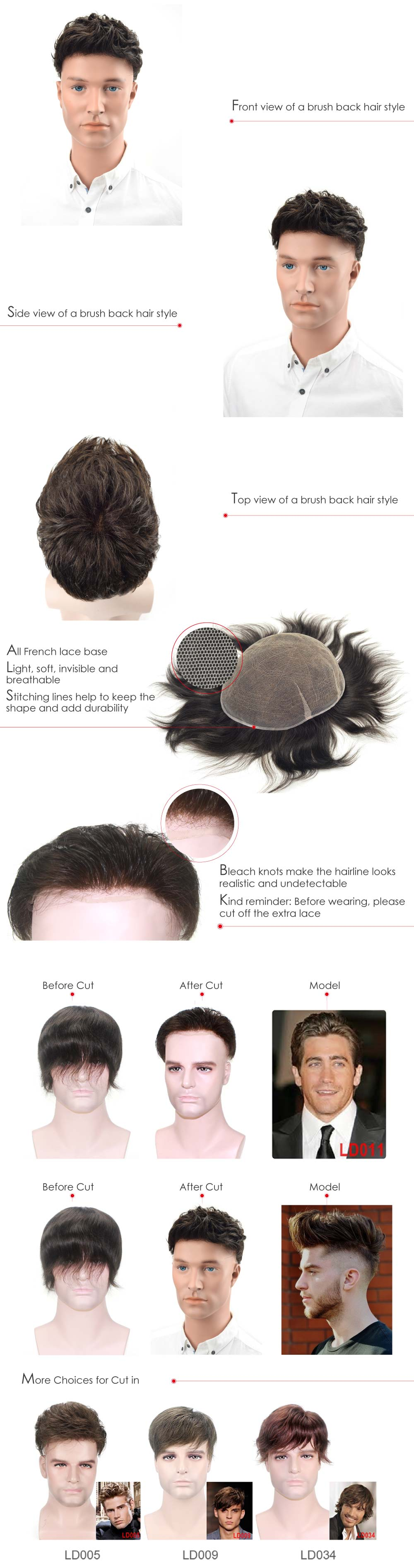 French Lace Hair System from Lordhair