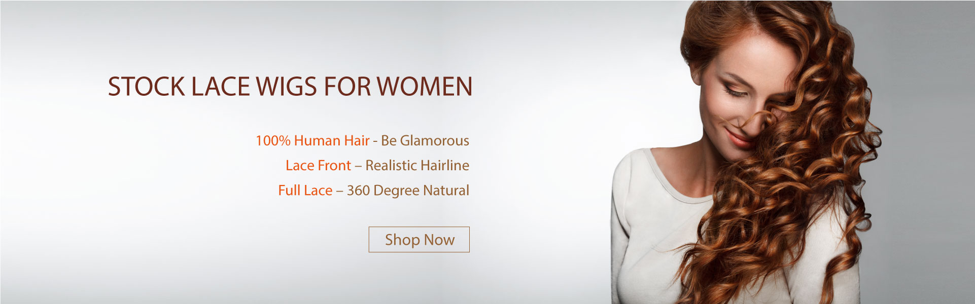 Stock lace wigs for women