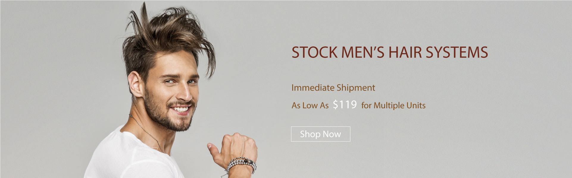 stock men's hair systems