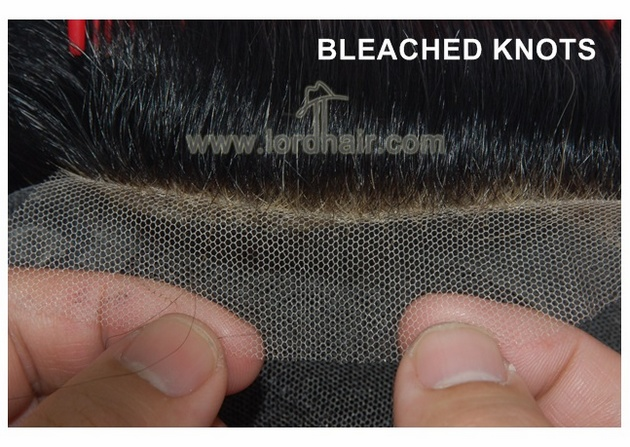 bleached knots