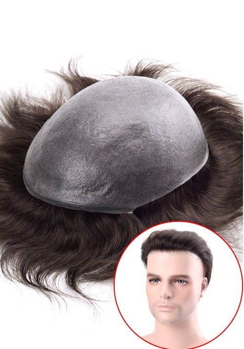 Thin skin mens hairpiece