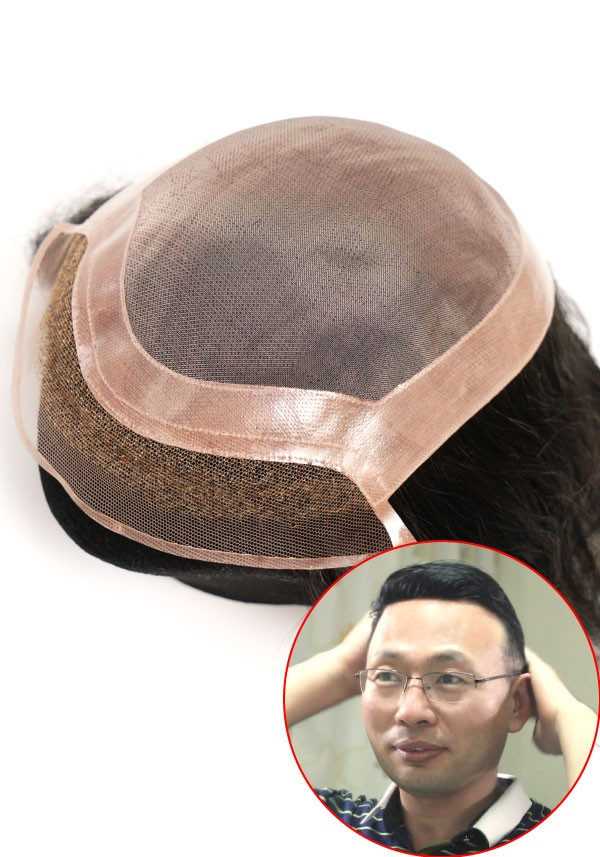Mono hair system for men