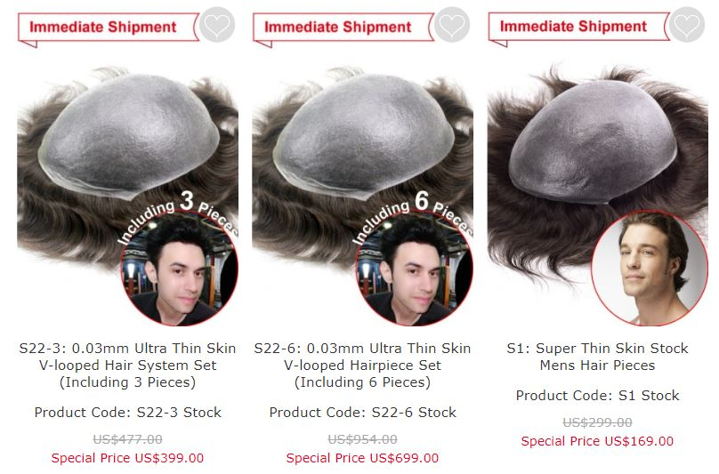 non surgical hair replacement cost