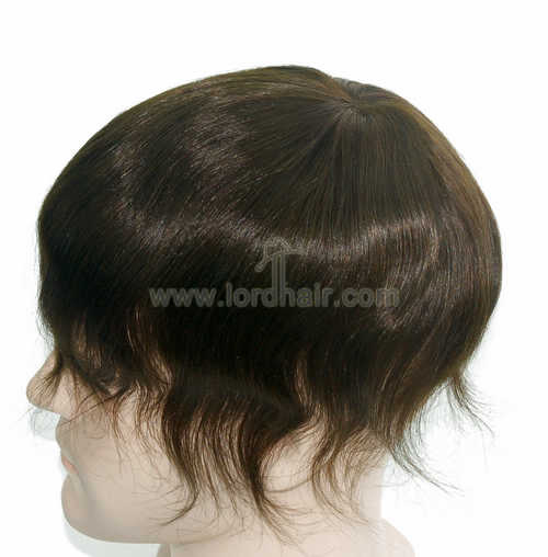 fine mono poly perimeter and top lace front