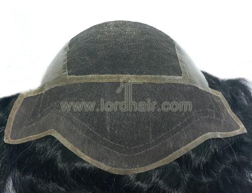 fine welded mono poly perimeter mono lace front