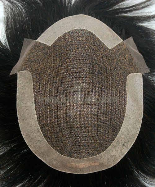 fine welded mono pu coat side back, pu patch on front