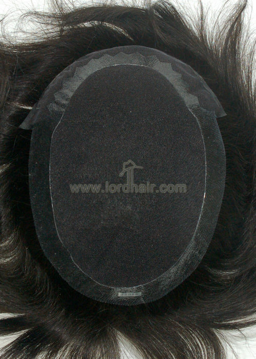 french lace poly perimeter hair system