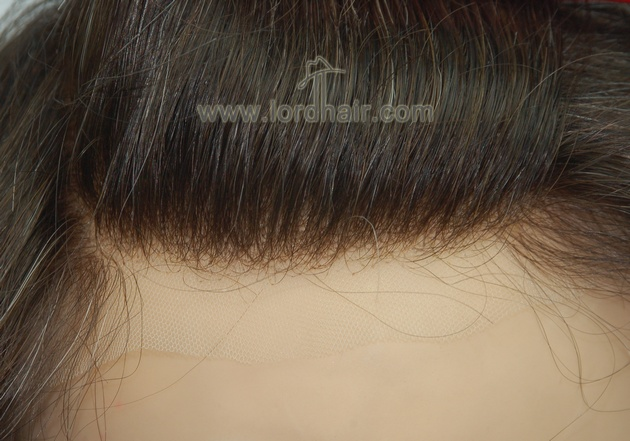 Natural Hairline of French Lace Toupee for Men