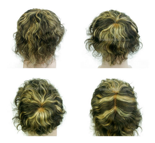 french lace hair system