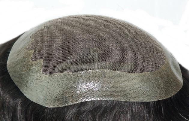 german net pu coat perimeter clear poly front