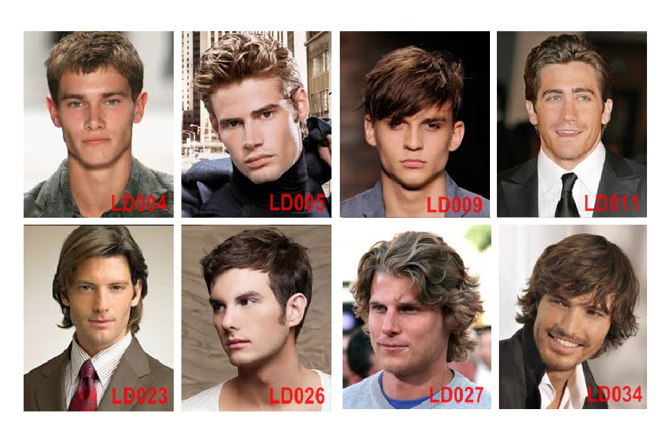 Hairstyles for Men's Hair Systems