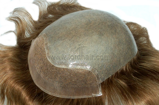 super thin skin mono lace front hair system