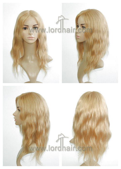t633 full cap lady wig
