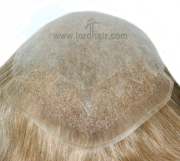 super thin skin with zigzag mono lace front